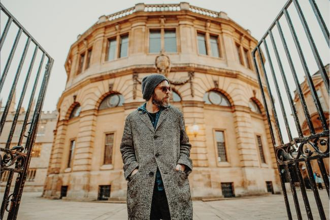 Going out: Gaz Coombes will play the Sheldonian Theatre on Sunday. Picture by Helen Messenger