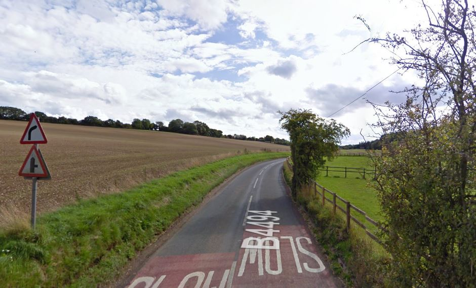 The B4494 near Catmore. Pic: Google Maps