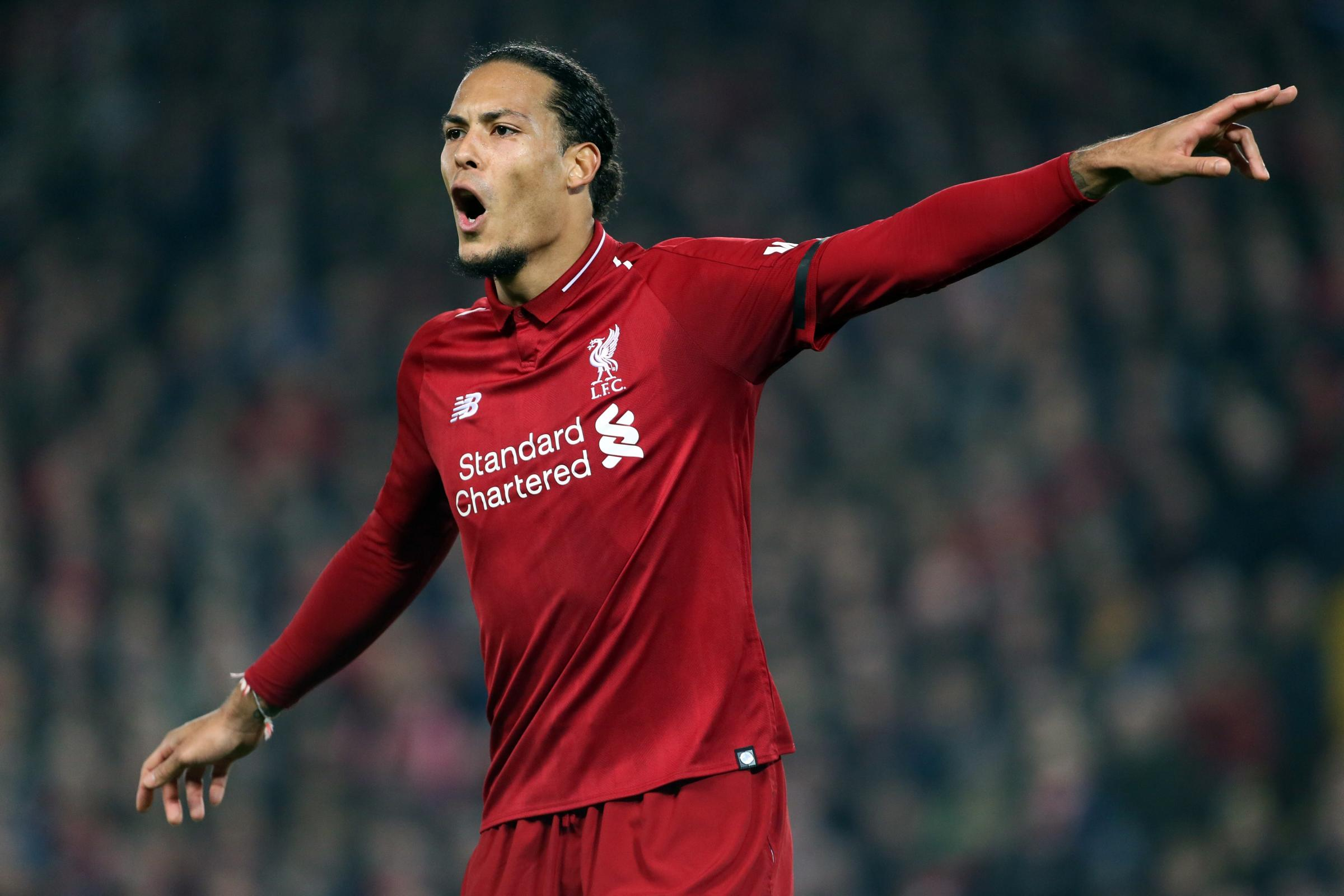 Liverpool's Virgil van Dijk is relishing his Champions League battle with Barcelona and Lionel Messi