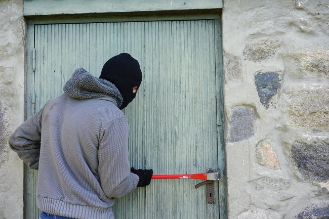 Stock image of a burglar. Photo: Pixabay