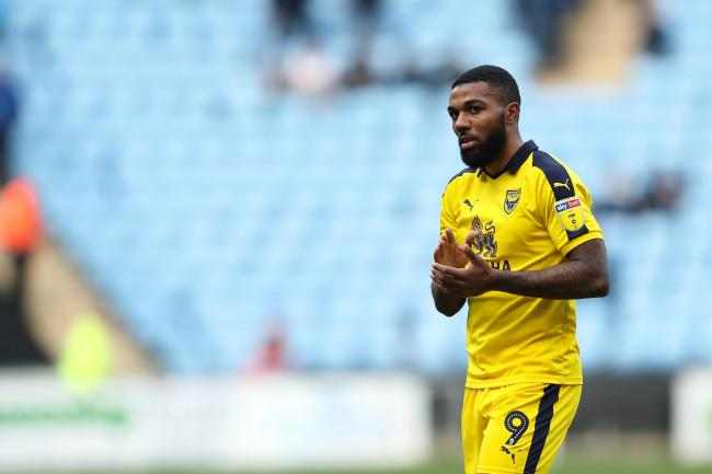 Jerome Sinclair in action for Oxford United last season Picture: James Williamson