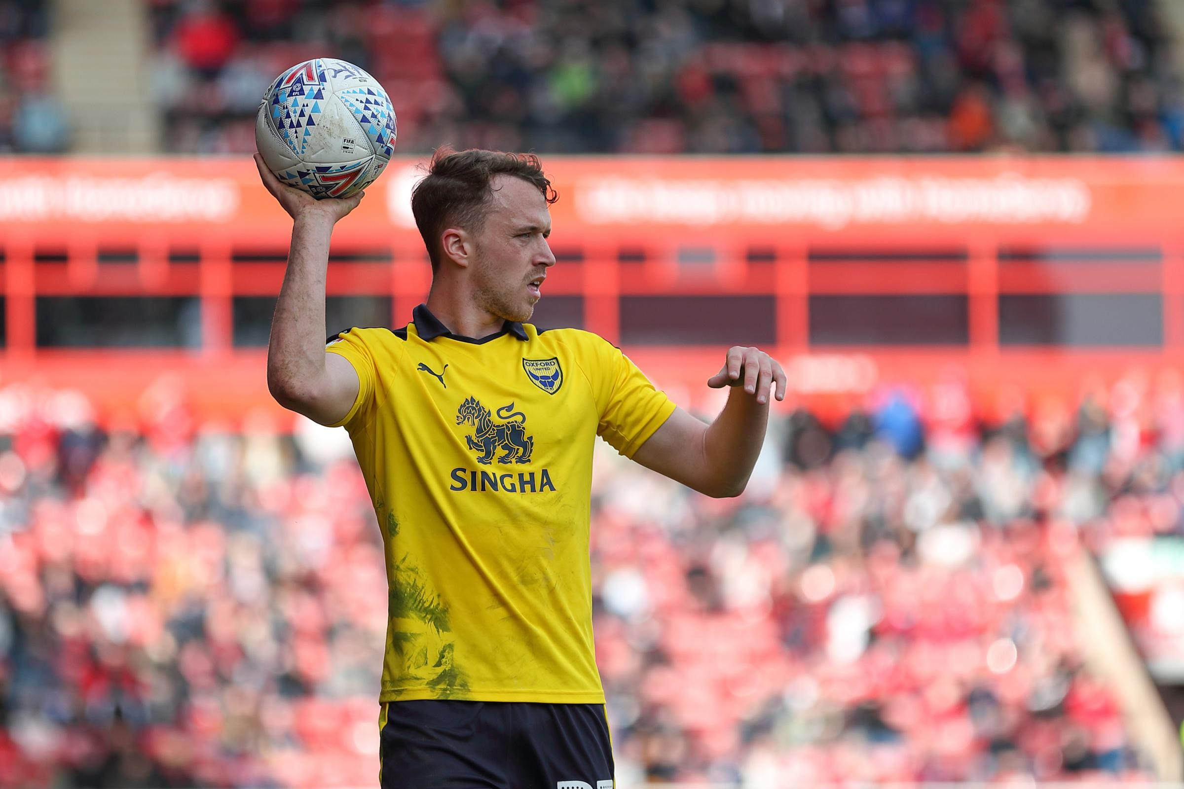 Sam Long is relishing his run in Oxford United's starting XI and could make his 50th appearance for the club over the Easter weekend   Picture: James Williamson