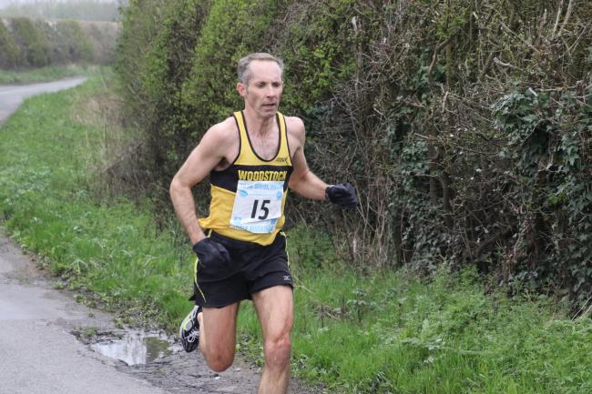 Woodstock Harrier James Bolton finished fifth in the Maidenhead Easter 10 Picture: Barry Cornelius