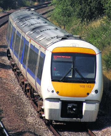 Chiltern Railways stock image
