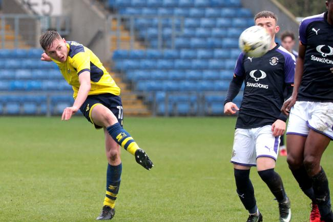 Ryan Crooks, pictured in action for Oxford United's youth team in 2018, has been offered a pro deal Picture: Ric Mellis
