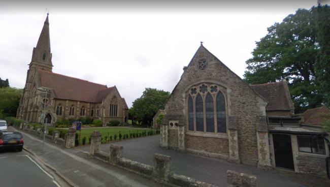 Trinity Church and the church hall. Picture Google Maps