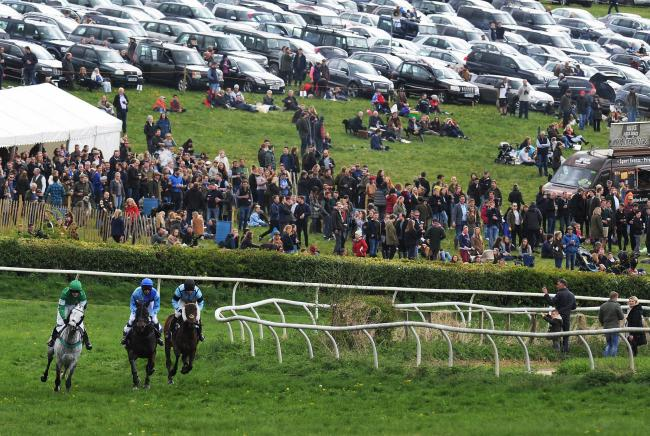 Action at the Lockinge point-to-point in 2017  Picture: Jon Lewis