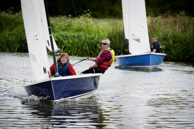 Open day at Abbey Sailing Club in 2016. Picture by David Fleming