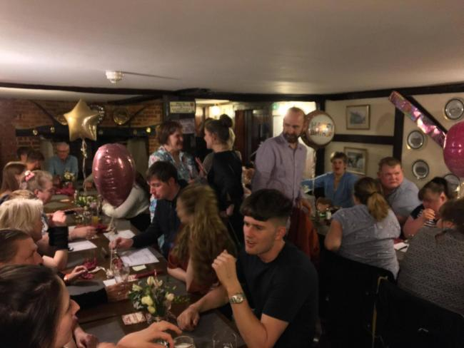 The Style Acre event at The George and Dragon pub