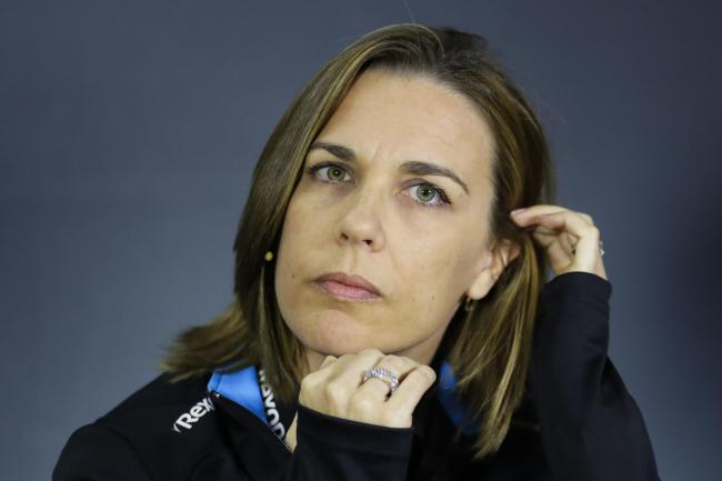 Deputy team principal Claire Williams said the incident was