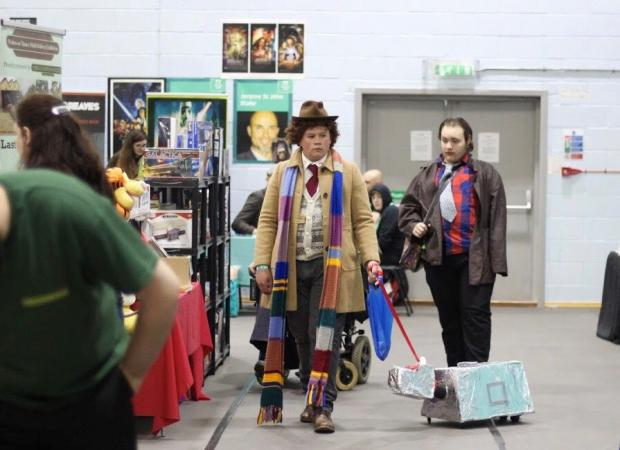 Herald Series: The Doctor and K-9 at Thames Con. Picture Abbie Clifton