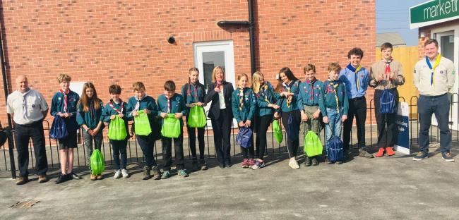 A scout district in Wantage has won £1,000 of funding for a trip to Switzerland