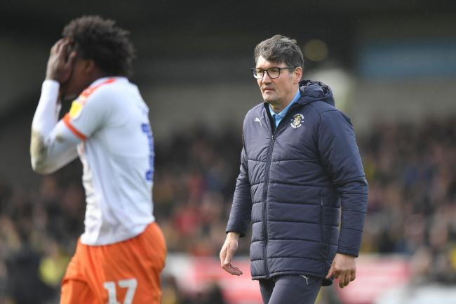Luton Town manager Mick Harford   Picture: Anthony Devlin/PA Wire