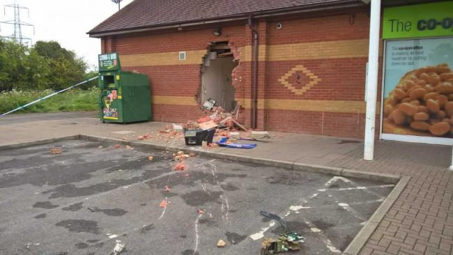 Co-op on the Ladygrove estate, Didcot, this morning. Pic: Ken Godfrey