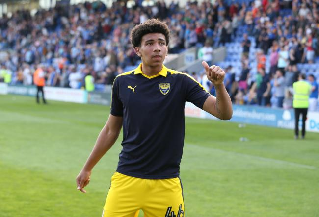 Nico Jones made his debut at Shrewsbury Town last month  Picture: Richard Parkes