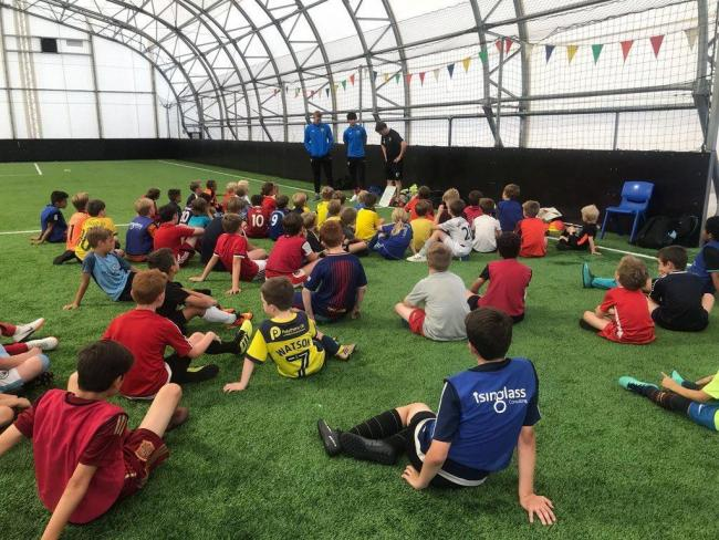 An Oxford United in the Community session