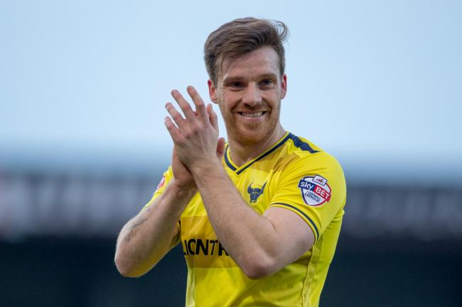 Johnny Mullins made 149 appearances for Oxford United before leaving in 2016  Picture: James Williamson