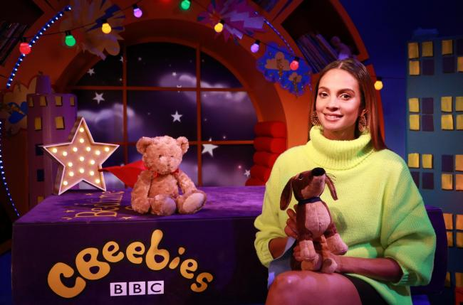 Alesha Dixon on CBeebies