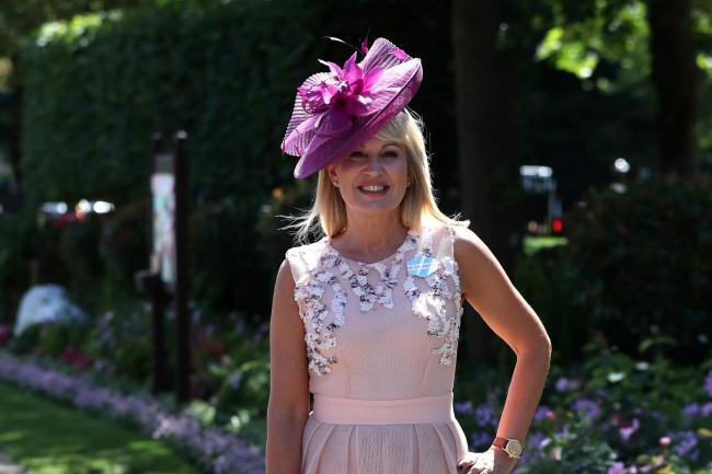 Nicki Chapman during Royal Ascot (Steve Parsons/PA)