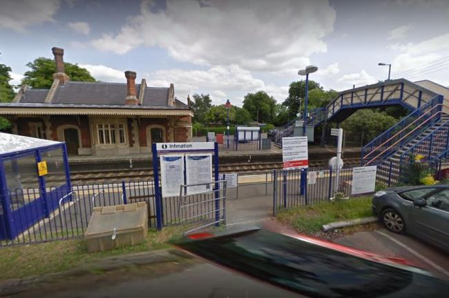 Culham station, close to where the collision happened. Pic: Google Maps