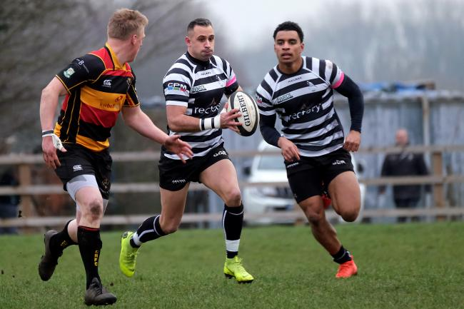 Craig Holland, who scored 26 tries for Chinnor this season, has joined Rosslyn Park Picture: Ric Mellis