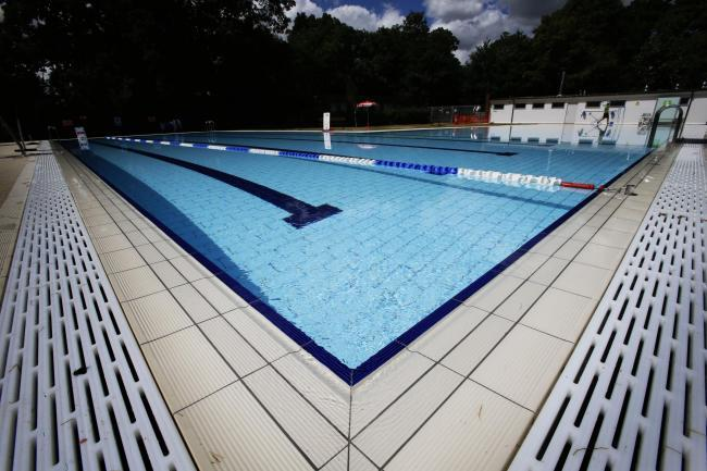 Abbey Meadow outdoor pool. Picture: Ed Nix