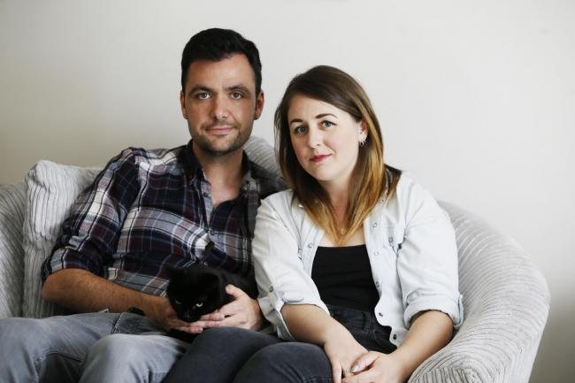 Abingdon couple Emily and Ben Scott are speaking out about their experience of the IVF 'postcode lottery': Picture by Ed Nix